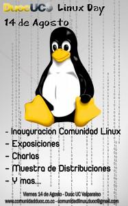 Afiche DuocUC Linux Day